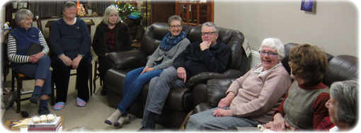Photo of a Bible Fellowship Group